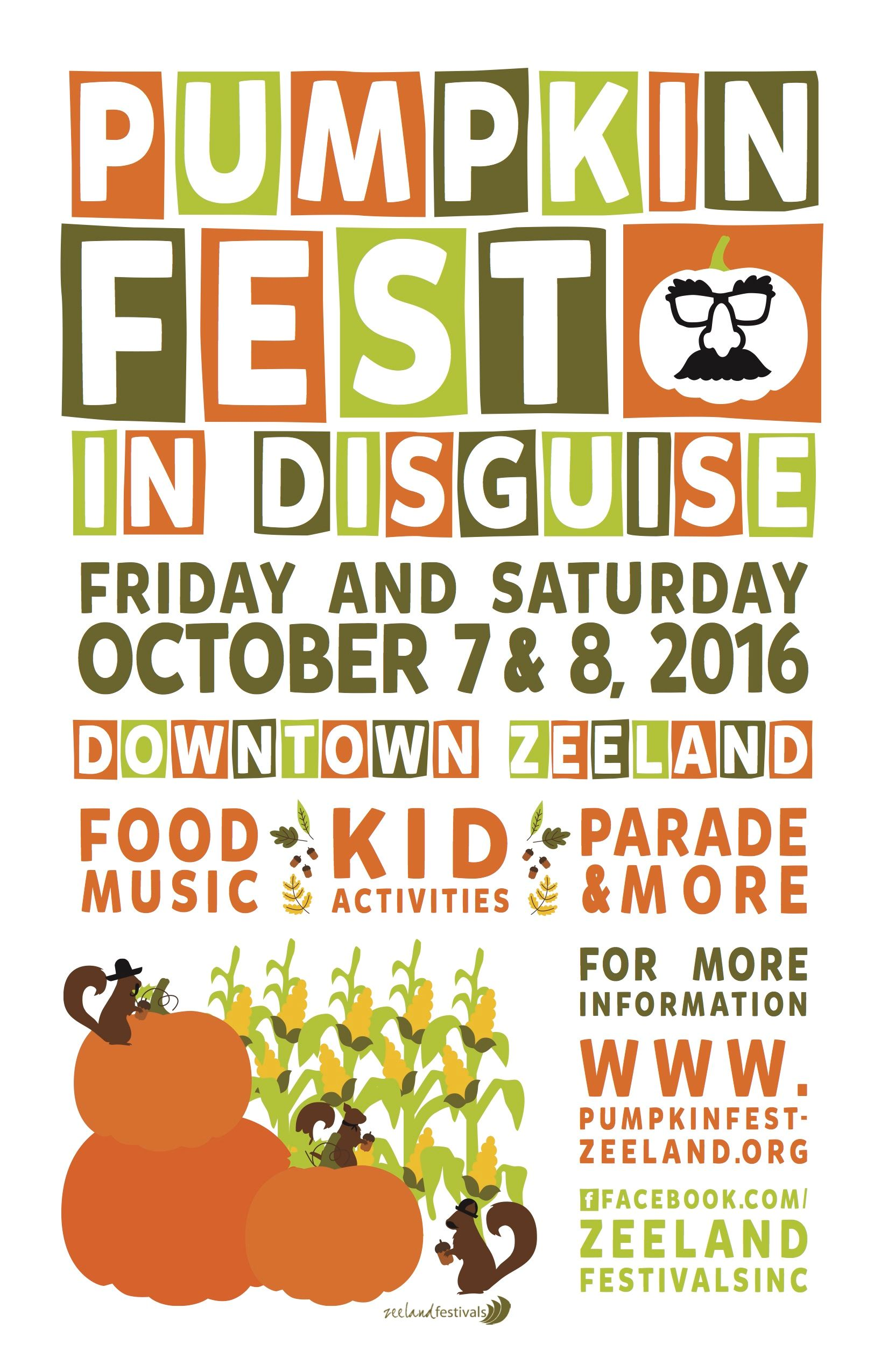 Pumpkinfest in Disguise Poster