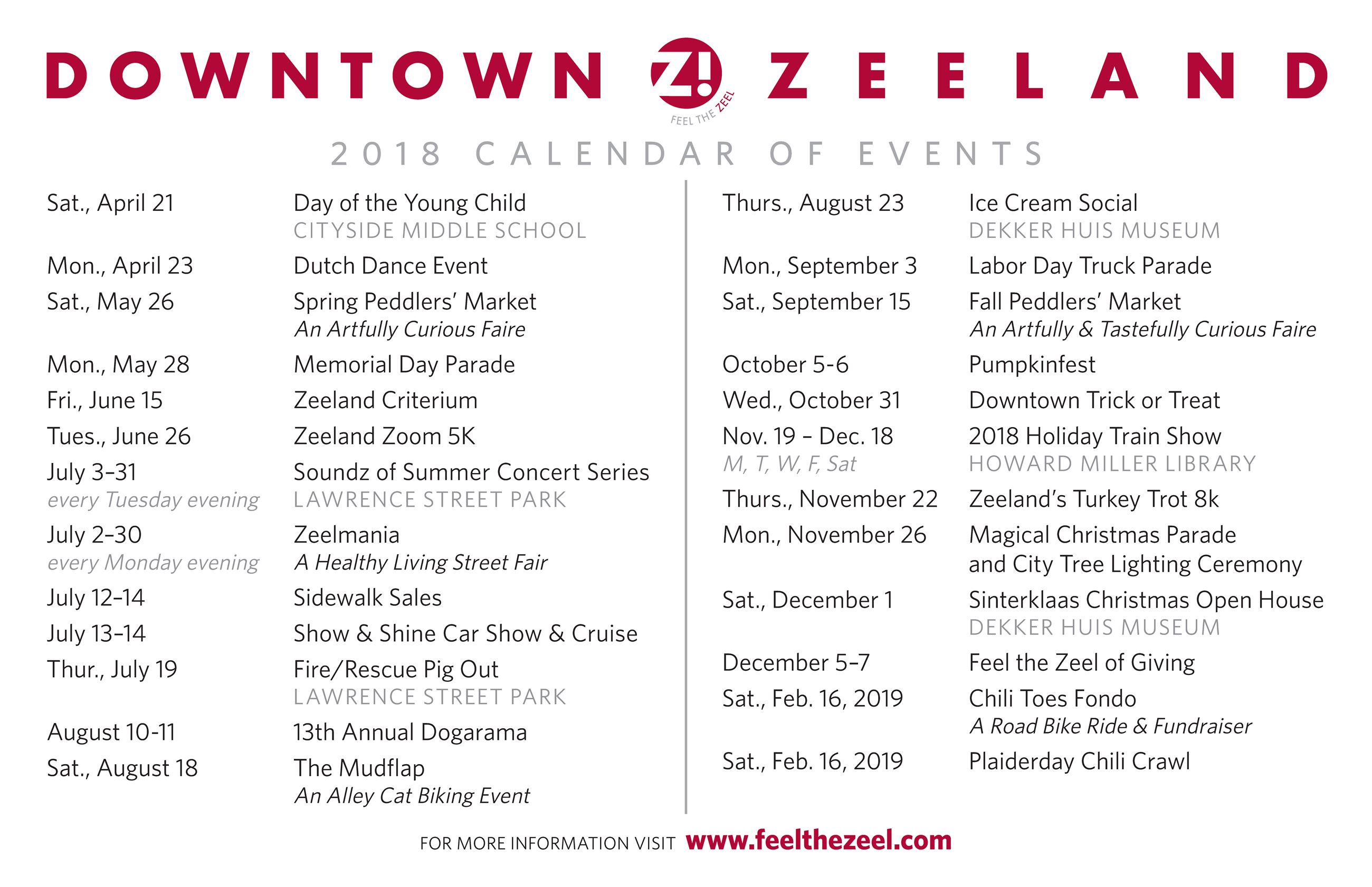 downtown zeeland calendar of events 2018_Page_1 (002)