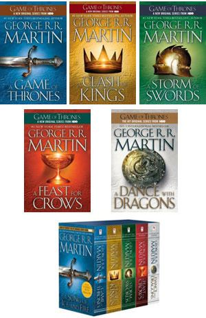 Game of Thrones Series Cover Photos