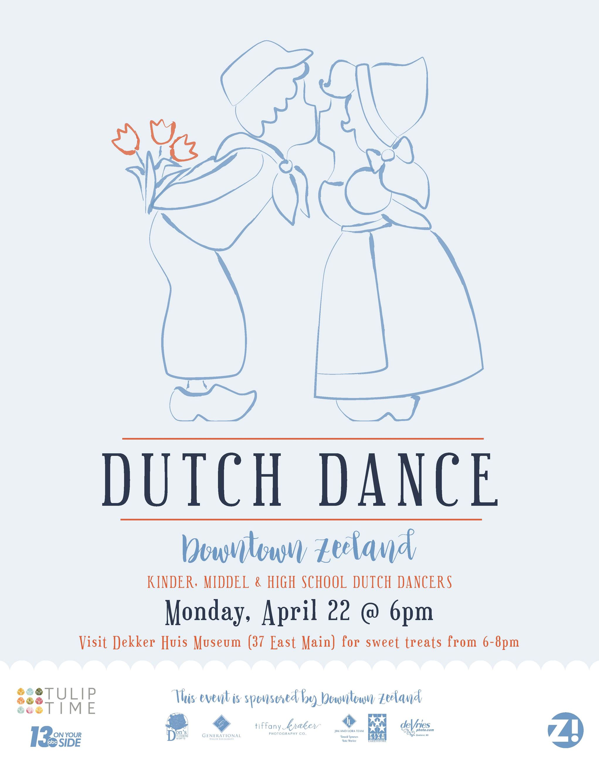 zeeland dutch dance poster dutch couple kissing FINAL-2019