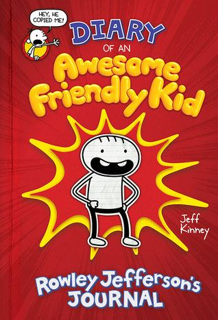 Diary of a Awesome Friendly Book Cover
