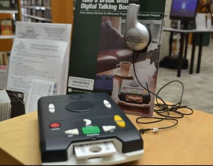 Demo Audio Book Reader for Visually and Physically Disabled Patrons