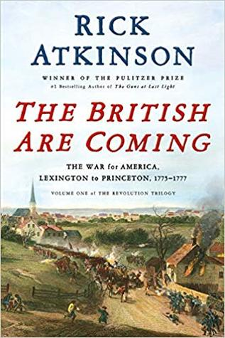The British are Coming Book Cover