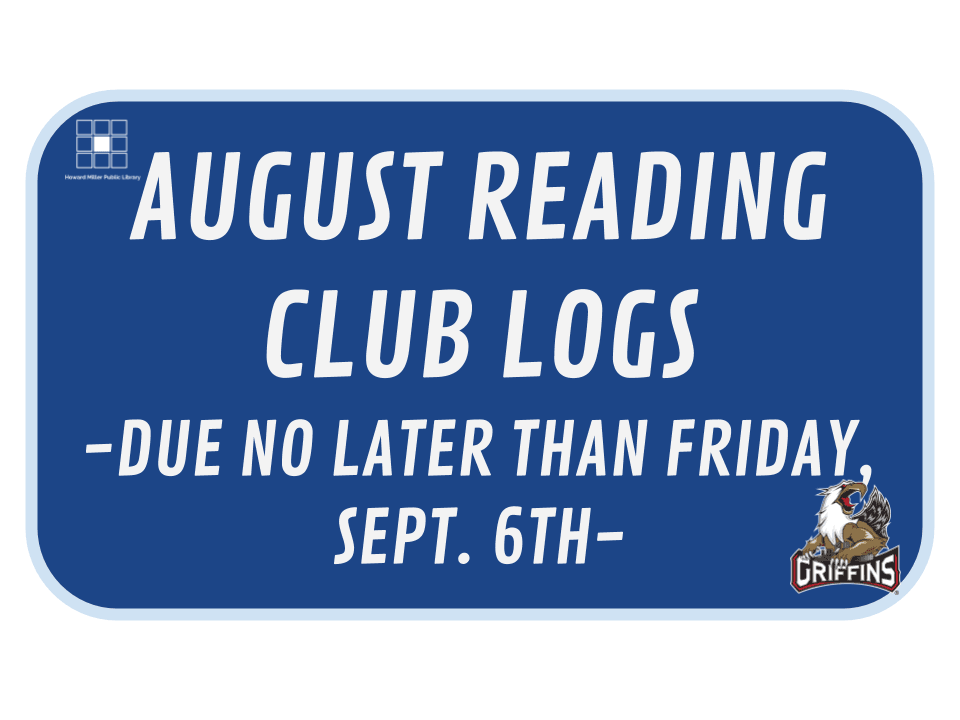 August Reading Log Printable