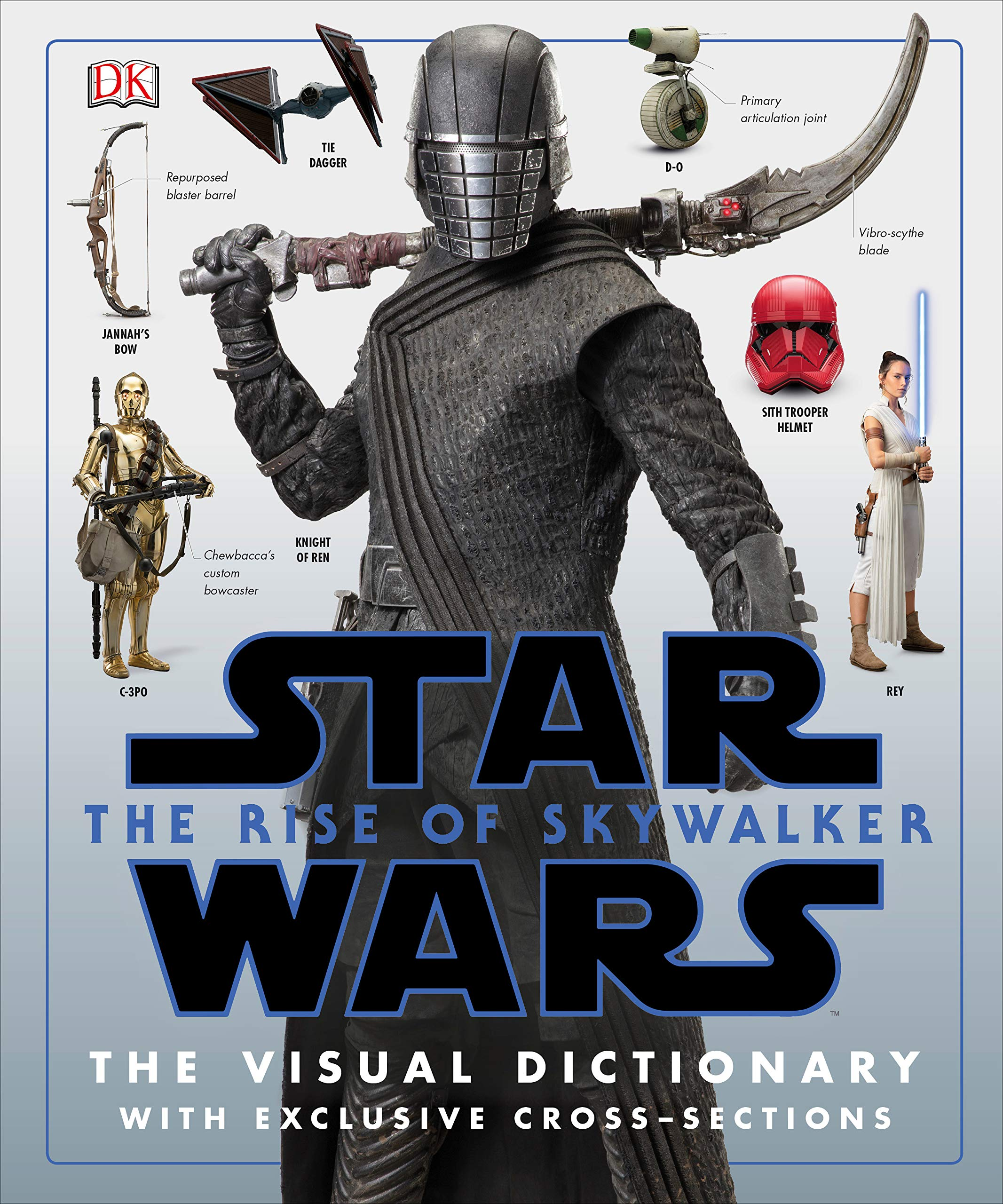 Star Wars Rise of Skywalker Visual Dictionary Book Cover