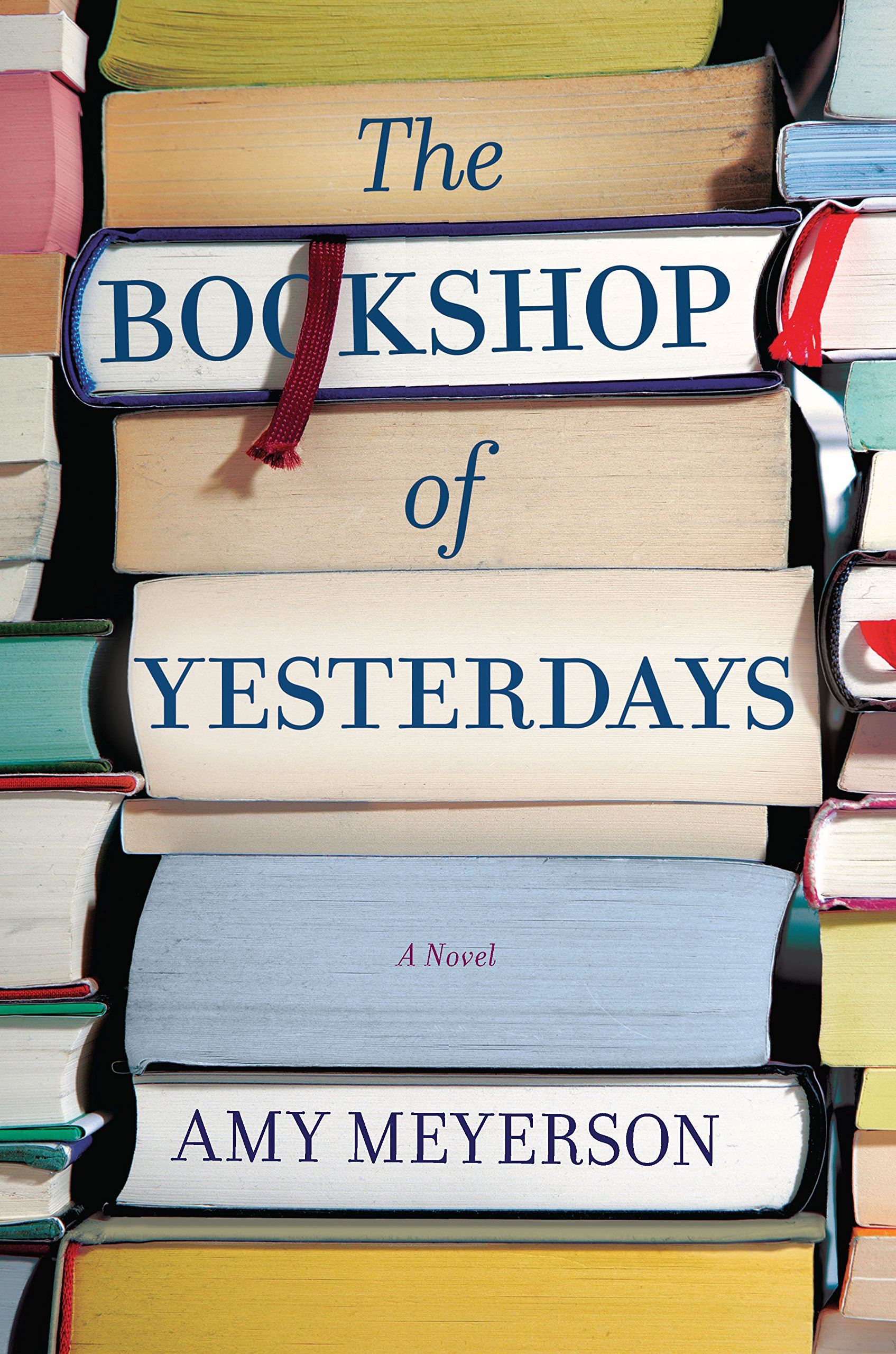 Bookshop of Yesterdays Book Cover