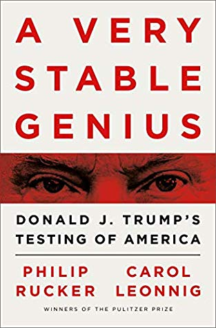 A Very Stable Genius Book Cover