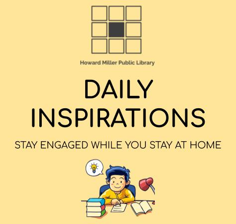 Daily Inspirations Stay Engaged While You Stay at Home