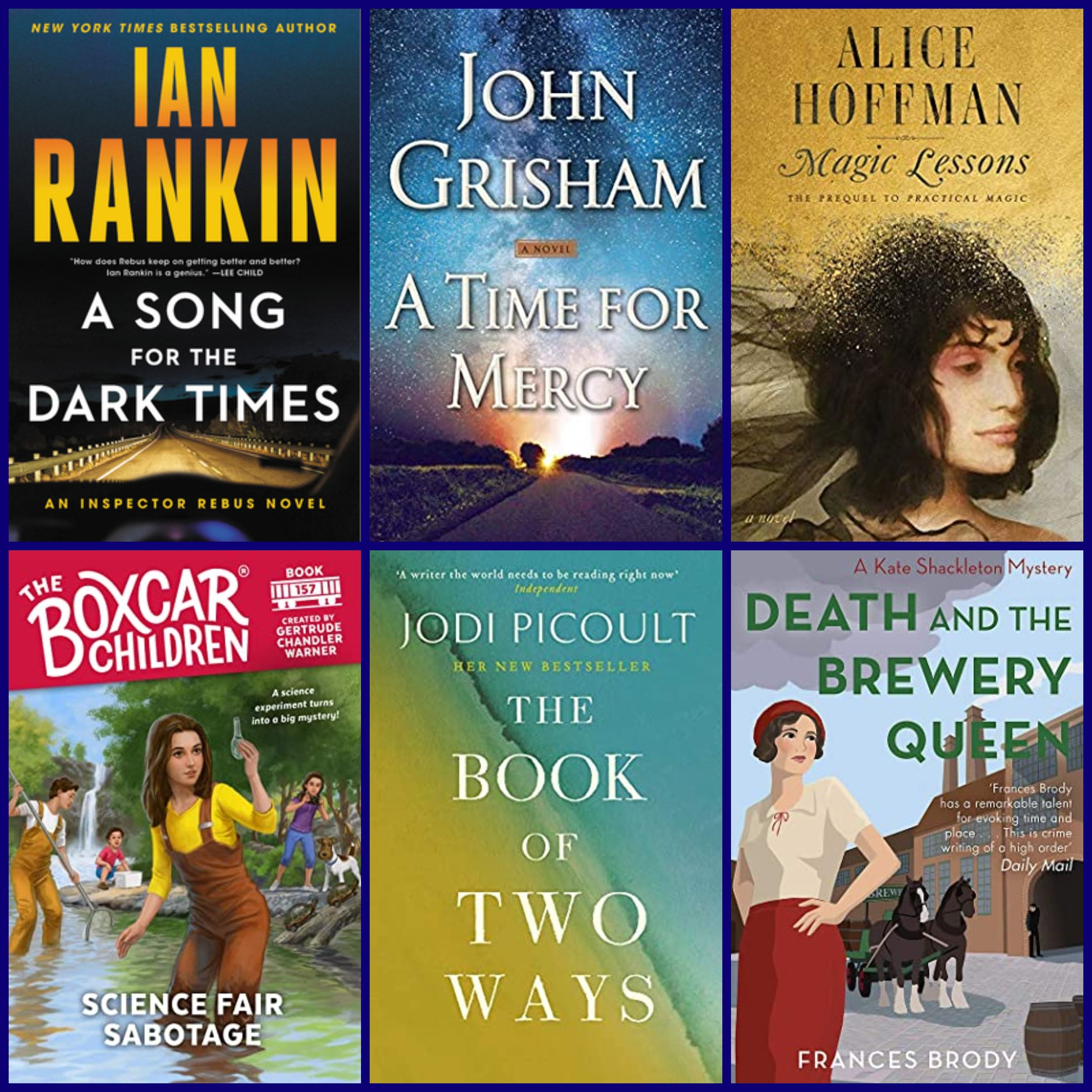 NewReleasesCollage 6 BookCovers